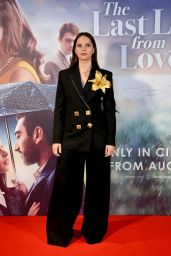 """Felicity Jones - """"The Last Letter From Your Lover"""" Premiere at Ham Yard Hotel in London 07/27/2021"""