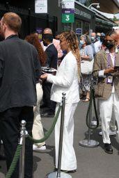 FKA Twigs at the 2021 Wimbledon Tennis Championships in London 07/05/2021