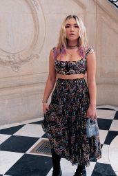 Florence Pugh - Dior Fall Winter 2021-2022 Fashion Show in Paris 07/05/2021