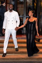 Gabrielle Union and Dwyane Wade - New York 07/17/2021