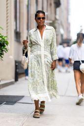 Gabrielle Union Looks Fashionable - New York 07/27/2021