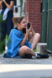 Gigi Hadid as Photographer - Photoshoot in Brooklyn 07/27/2021