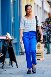 """Gina Rodriguez """"Players"""" Set in New York 07/28/2021"""