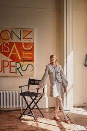 Greta Bellamacina - Chanel Special for Harper