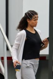 """Gugu Mbatha Raw - AppleTV+ Series """"Surface"""" Set in Vancouver 07/01/2021"""