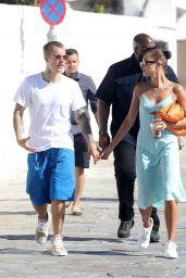 Hailey Rhode Bieber and Justin Bieber - Mykonos 06/29/2021