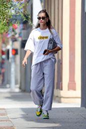 Hailey Rhode Bieber - Exiting Voda Spa in West Hollywood 07/25/2021
