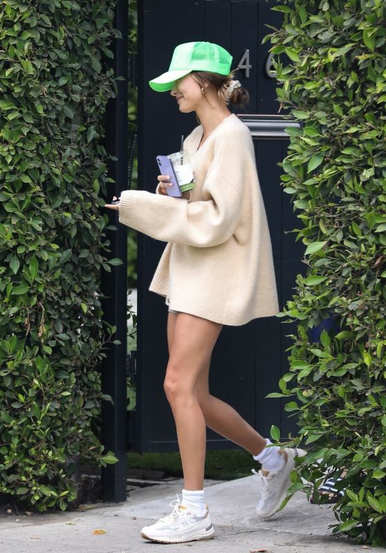 Hailey Rhode Bieber – Leaving a Pilates Class in West Hollywood 07/13/2021