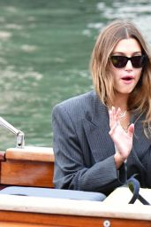 Hailey Rhode Bieber - Leaving the Hotel Amal in Venice 07/15/2021