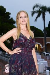 Heather Graham – Filming Italy Festival in Santa Margherita di Pula 07/25/2021
