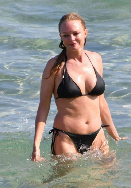 Heather Graham in a Bikini - Sardinia 07/22/2021