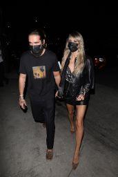 Heidi Klum and Tom Kaulitz at E Baldi Restaurant in Santa Monica 07/01/2021