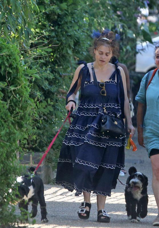 Helena Bonham Carter - Out in London 07/18/2021