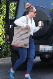 Hilary Duff - Out in West Hollywood 07/13/2021