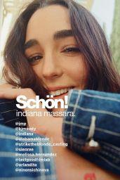 Indiana Massara - Schön! Magazine July 2021