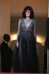 "Isabelle Adjani – ""De Son Vivant (Peaceful)"" Red Carpet at the 74th Cannes Film Festival"