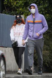 Isla Fisher and Sacha Baron Cohen - Sydney 07/20/2021
