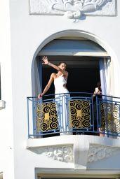 Izabel Goulart at Hotel Martinez in Cannes 07/10/2021