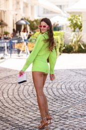 Izabel Goulart at the Martinez Hotel in Cannes 07/08/2021