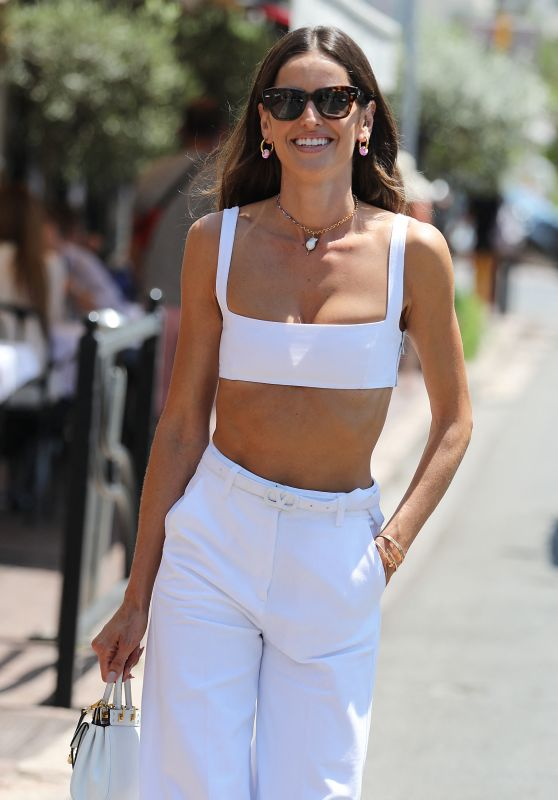 Izabel Goulart Wearing Head to Toe Valentino Look - Cannes 07/10/2021