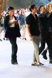 Jasmine Tookes and Josephine Skriver at the Conor McGregor vs Dustin Poirier in Las Vegas 07/10/2021