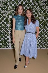 Jenna Coleman - Polo Ralph Lauren VIP Suite at Wimbledon 07/09/2021