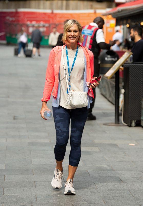 Jenni Falconer in Leggings - London 07/27/2021