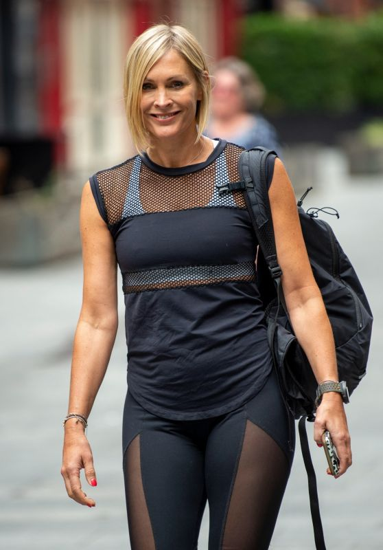 Jenni Falconer - Out in London 07/28/2021
