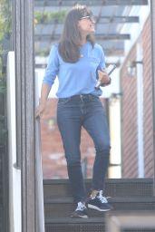 Jennifer Garner at Her Office in Brentwood 07/27/2021