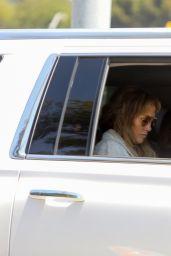 Jennifer Lopez and Ben Affleck - Arrive back in LA 07/07/2021