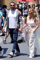Jennifer Lopez and Ben Affleck at Universal Studios in Los Angeles 07/02/2021