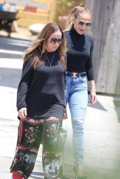 Jennifer Lopez Booty in Jeans - Los Angeles 07/10/2021