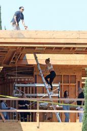 Jennifer Lopez in a Sports Bra in Holmby Hills, LA 07/17/2021