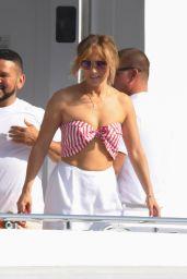 Jennifer Lopez in Amalfi and Sorrento Coast 07/28/2021