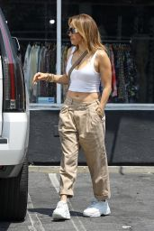 Jennifer Lopez in Casual Outfit - Beverly Hills 07/13/2021