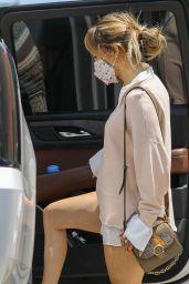 Jennifer Lopez in Casual Outfit in Santa Monica 07/14/2021