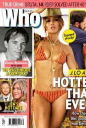 Jennifer Lopez - Who Magazine 08/09/2021 Issue