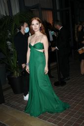 Jessica Chastain - Chopard Trophy Dinner at Cannes Film Festival 07/09/2021