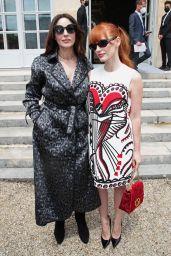 Jessica Chastain - Dior Fall Winter 2021-2022 Fashion Show in Paris 07/05/2021