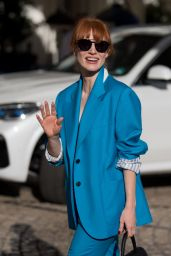 Jessica Chastain - Out in Cannes 07/09/2021