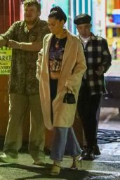 Jessie J in Casual Outfit at Pace in Los Angeles 07/10/2021