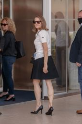 Jodie Foster at the Martinez Hotel in Cannes 07/07/2021