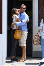 Jordana Brewster and Mason Morfit - Out in Brentwood 07/15/2021
