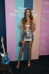 Josephine Skriver – Sports Illustrated Swimsuit 2021 Issue Concert in Miami 07/24/2021