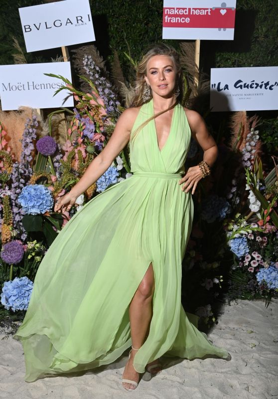 Julianne Hough - The Naked Heart France Riviera Dinner at Cannes Film Festival 07/13/2021