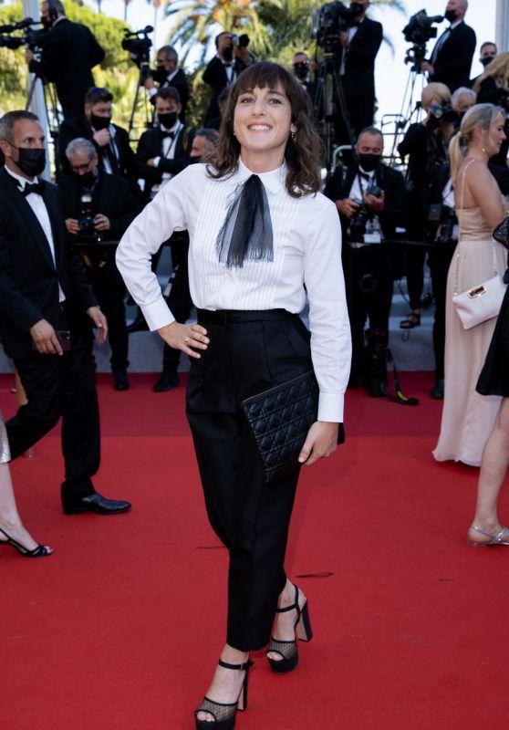 """Juliette Armanet – """"De Son Vivant (Peaceful)"""" Red Carpet at the 74th Cannes Film Festival"""