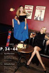 Juno Temple and Hannah Waddingham - Variety July 2021