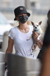 Kaley Cuoco at JFK Airport in New York 07/24/2021
