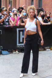 Kamron Karol – Maybelline Film Shoot Highlights at Highline Stages in NY 07/28/2021