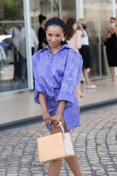 Kat Graham at the Martinez Hotel in Cannes 07/16/2021